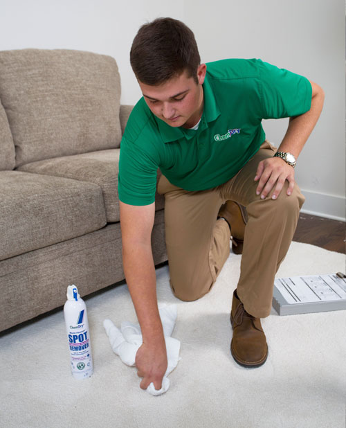 Our techs will analyze every stain and provide the proper stain removal process, giving you the best chance of removing that stain!