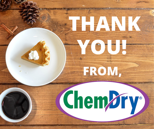 thank you from Green Mitten Chem-Dry
